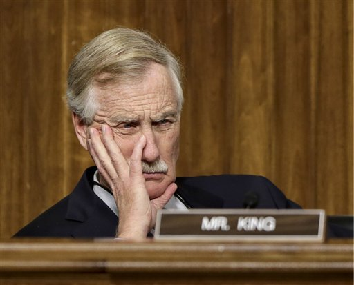 Sen. Angus King, I-Maine, furloughed all of his staff in Maine, while eight people Are taking turns manning the Washington office.