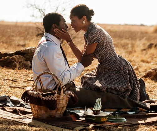 """The film, """"Long Walk to Freedom,"""" has already earned $427,000 (Rand 4.4 million), according to Videovision Entertainment."""