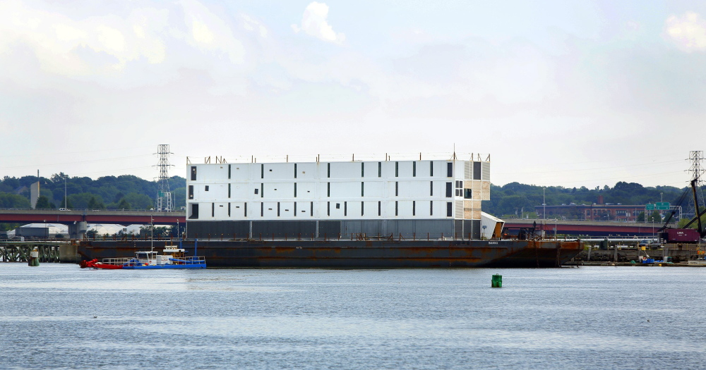 Google's barge in Portland Harbor snared attention last summer. A Coast Guard inspector raised concerns about fire safety on a similar barge in San Francisco.