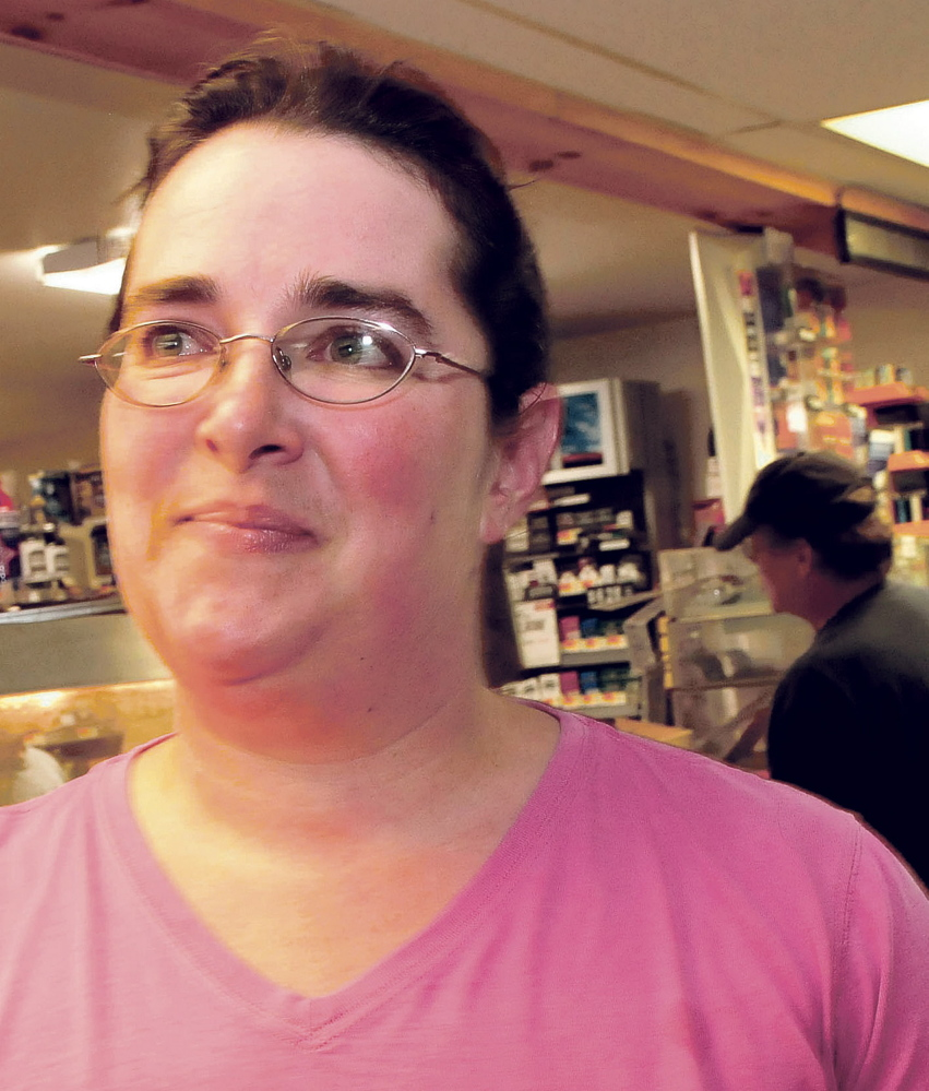 "Athens Corner Store manager Katie Anton, seen here in this July 21 photo, said she is ""relieved"" to have Robert Burton in custody."