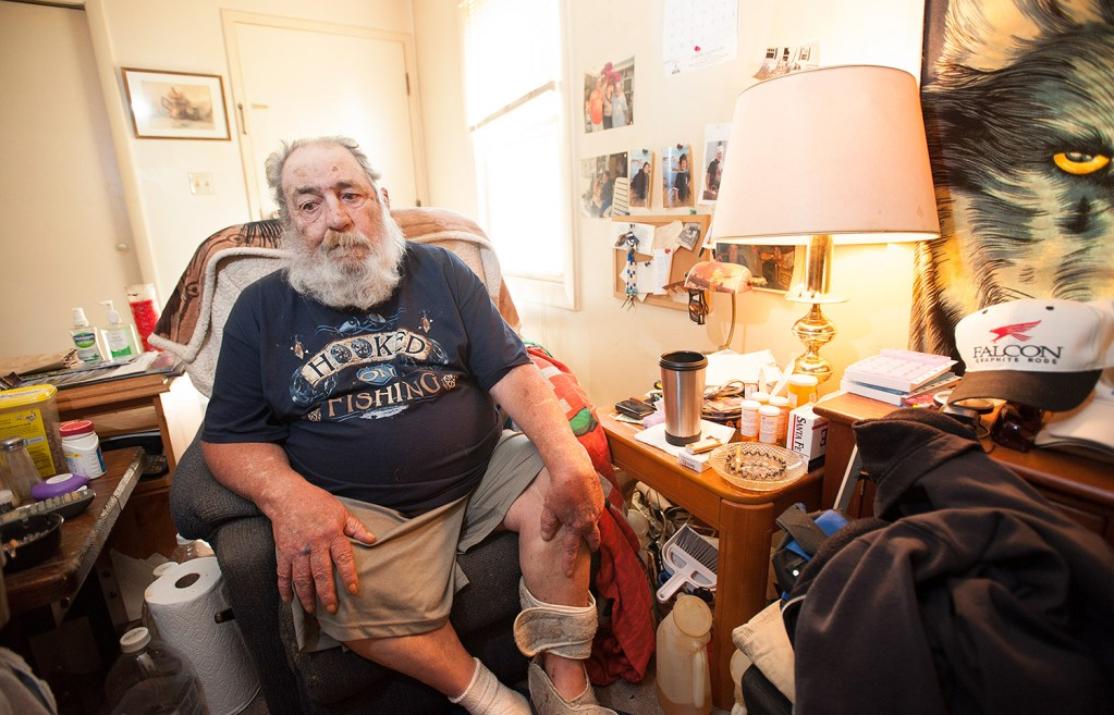 Harvey Lembo, who shot an alleged intruder in his Rockland apartment on Sept. 1, now says in a lawsuit that his landlord's ban on gun possession violates his constitutional rights.