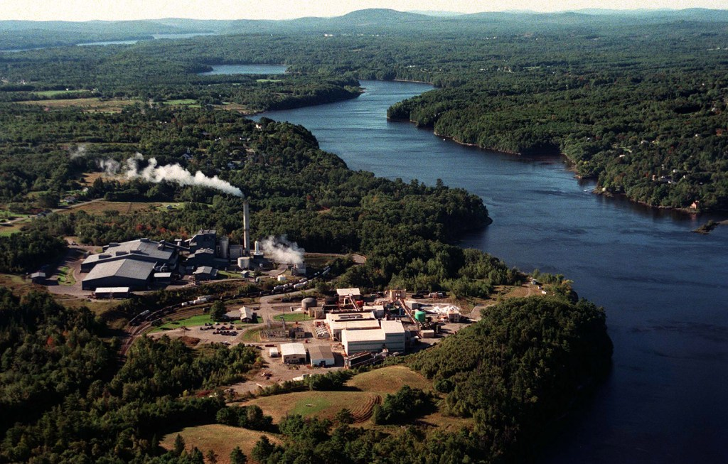 HoltraChem Manufacturing Co. opened its Orrington chemical plant on the Penobscot River in 1967, using mercury in a process to create chemicals.