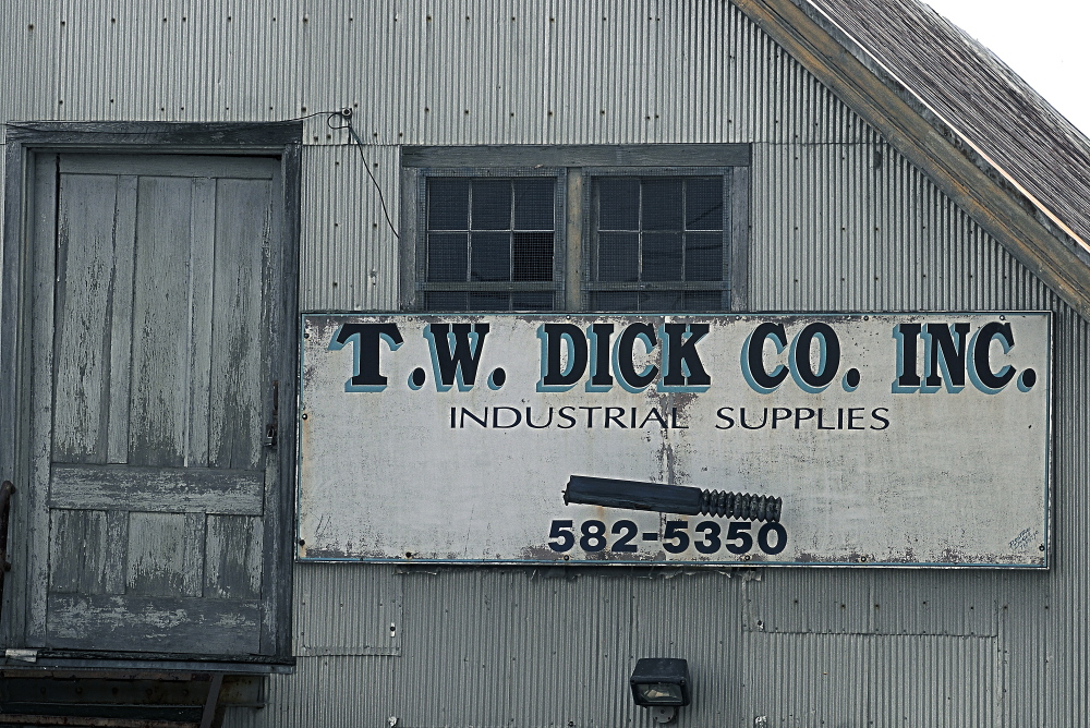 The former T.W. Dick building may become medical offices if a proposal for redevelopment comes to fruition.