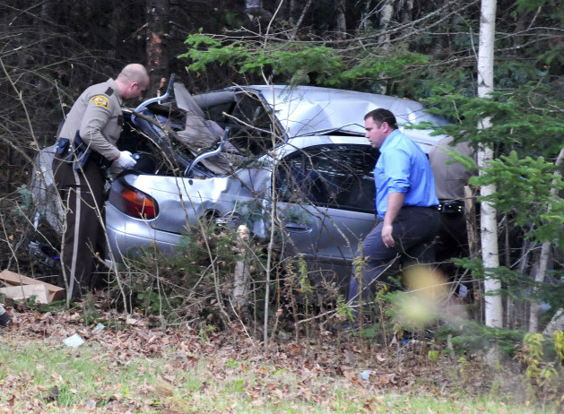 North Anson man leads police on wild chase to end day-long
