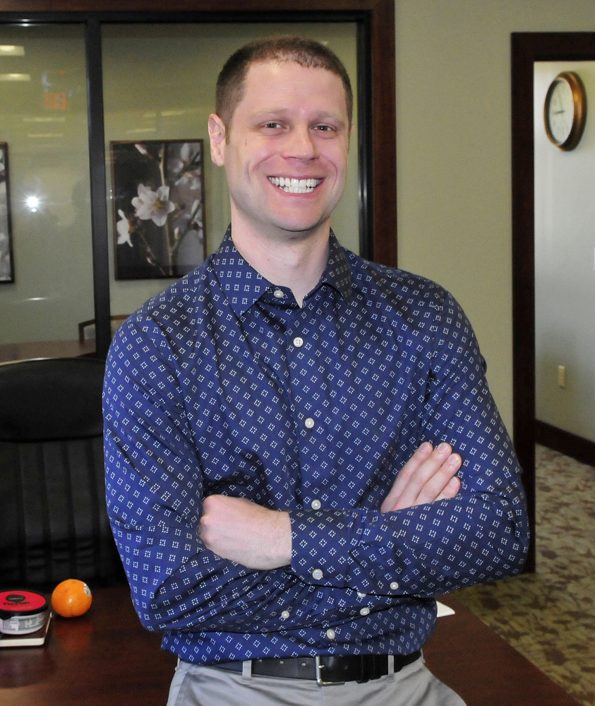Jonathan Kent will receive the Mid-Maine Chamber of Commerce Rising Star Award at its ceremony April 28. Kent is a vice president of enrollment at Thomas College in Waterville.