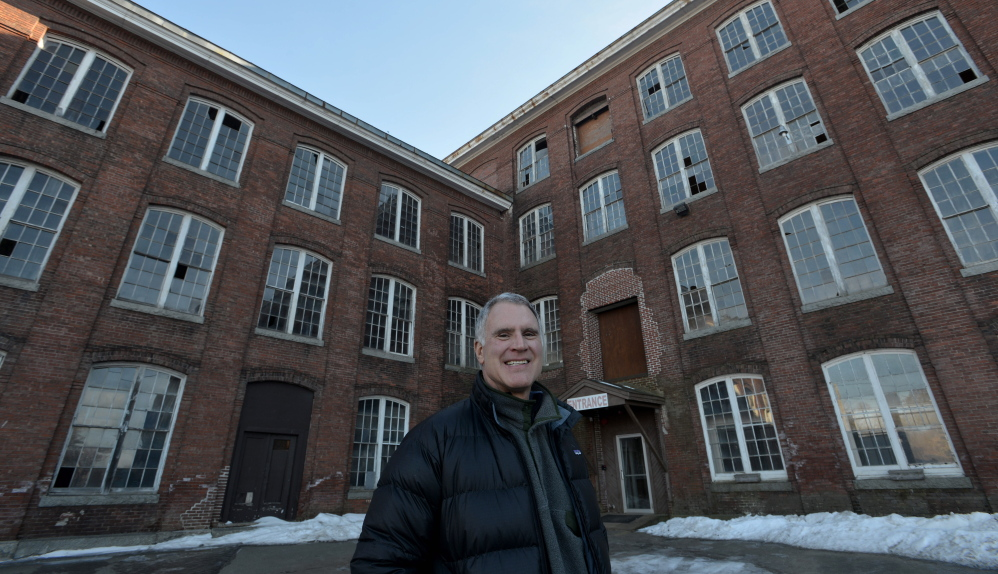 Paul Boghossian, former owner and developer of the Hathaway Creative Center in Waterville.
