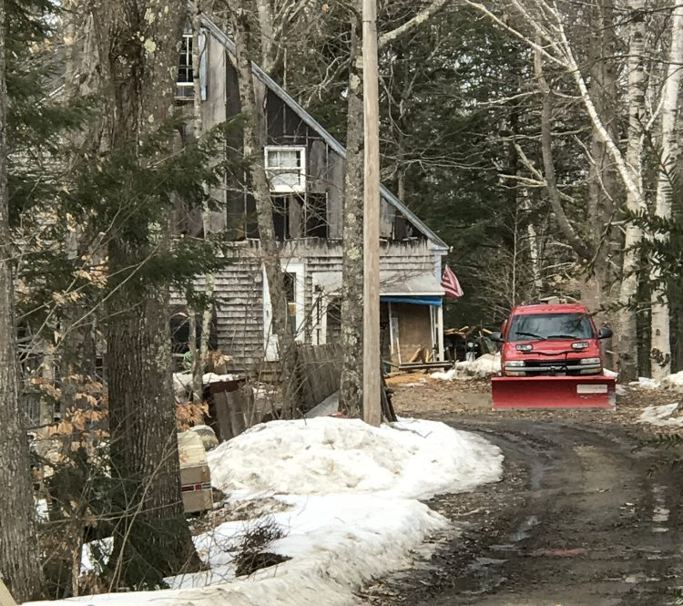 The home at 29 Sharmac Lane in Richmond on Tuesday, where police say Kurt Linton beat his father so severely Feb. 9 that the victim died 13 days later.