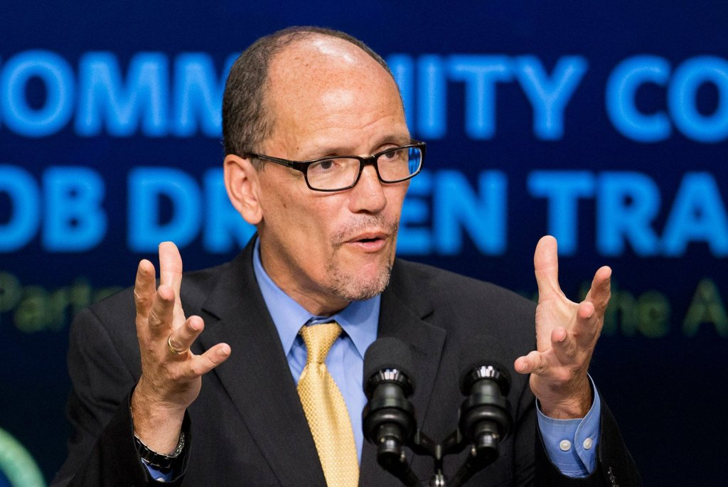 Former Labor Secretary Tom Perez is the new leader of the Democratic Party.