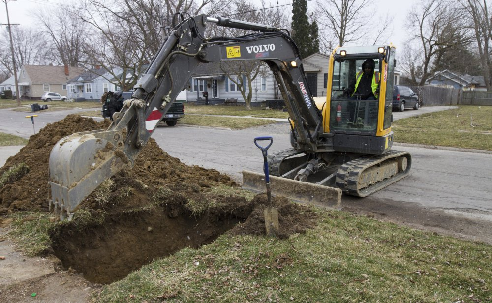 Work continues on replacing water lines in Flint, Mich., where residents could be years away from drinking unfiltered tap water. The project's coordinator aims to fix 6,000 lines a year.