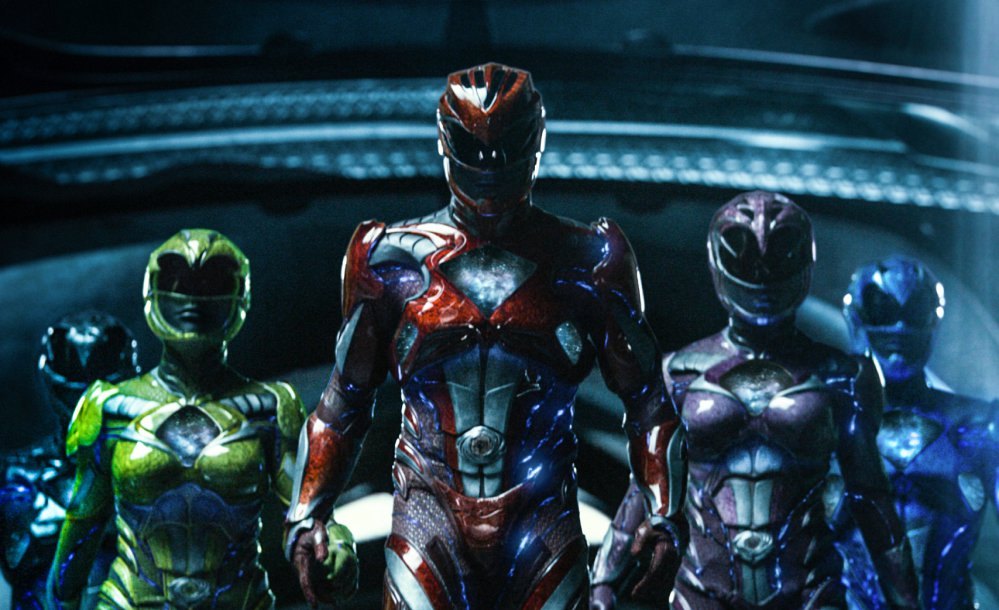 """Lionsgate's """"Power Rangers"""" earned $40.5 million to grab the No. 2 spot."""