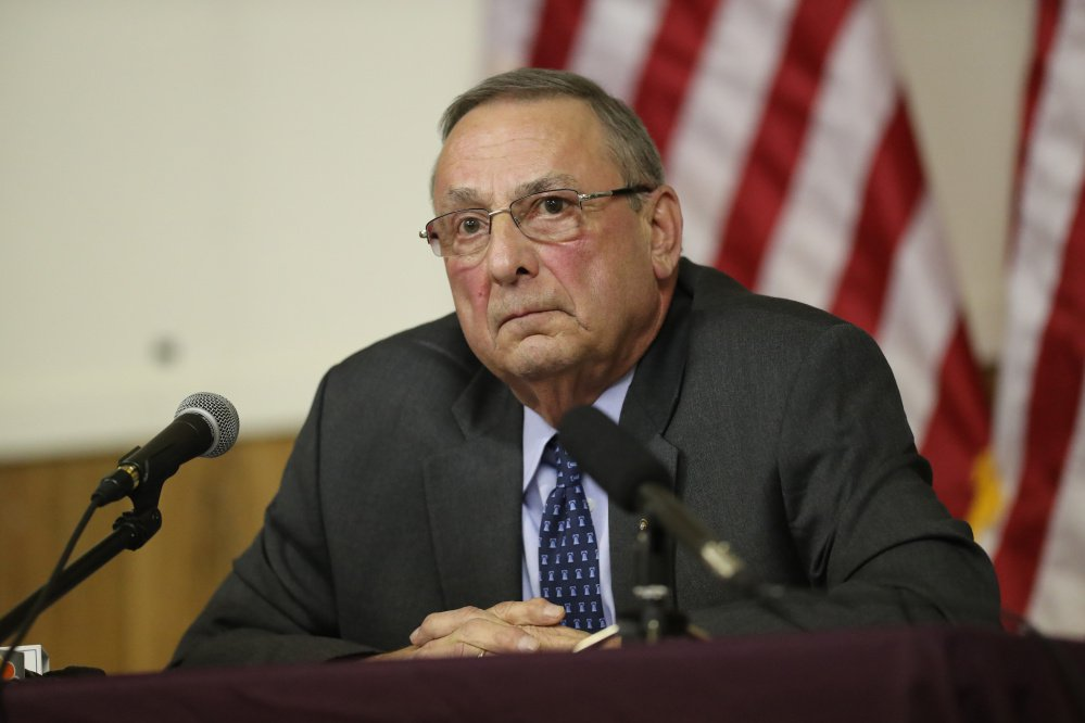 "Unhappy with Republican governors who ""sat on the sidelines"" while the party's health care plan failed in Congress, Gov. Paul LePage said he may try to create a state health insurance system."