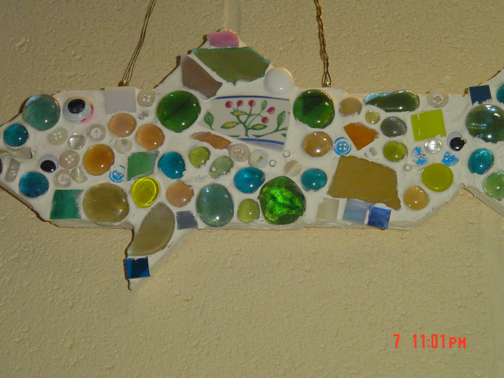 """""""Follow ME"""" — A cross generational mosaic installation by elementary and teen youth."""