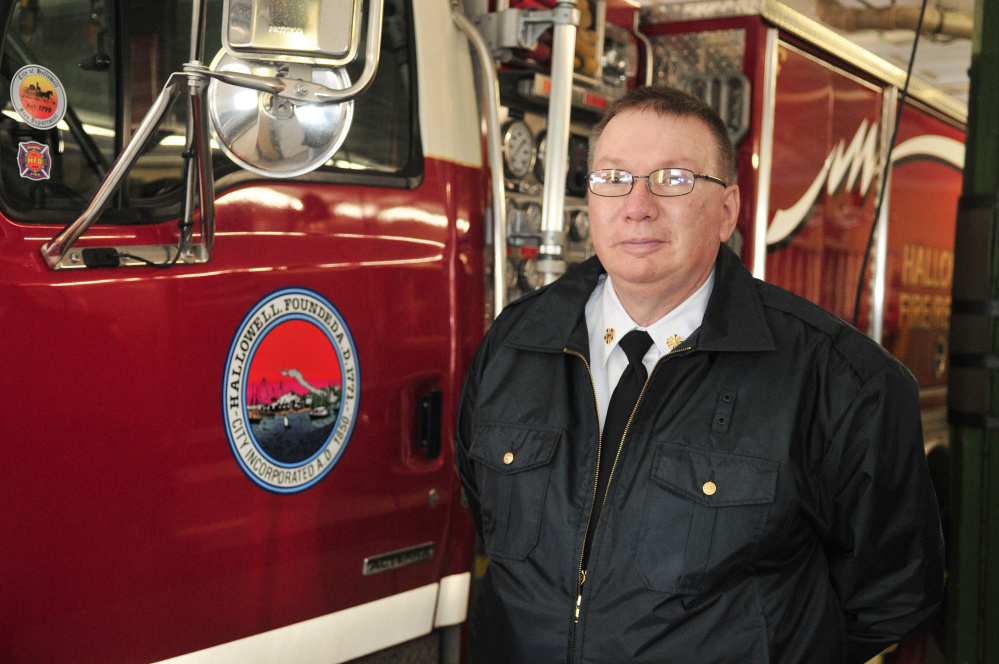 Hallowell Fire Chief Jim Owens, shown in this February file photo, is one of the city officials who will have a lot of work ahead if council moves forward with an aggressive time line to build a new fire station.