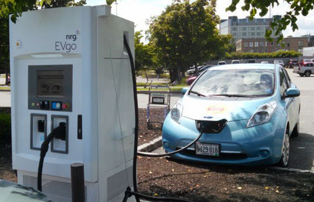 Vehicles that use little or no fuel have cut into the state's gas tax collections, leaving the highway fund short. Lawmakers are considering a bill to offset that by imposing an annual surcharge on hybrid and electric vehicles.