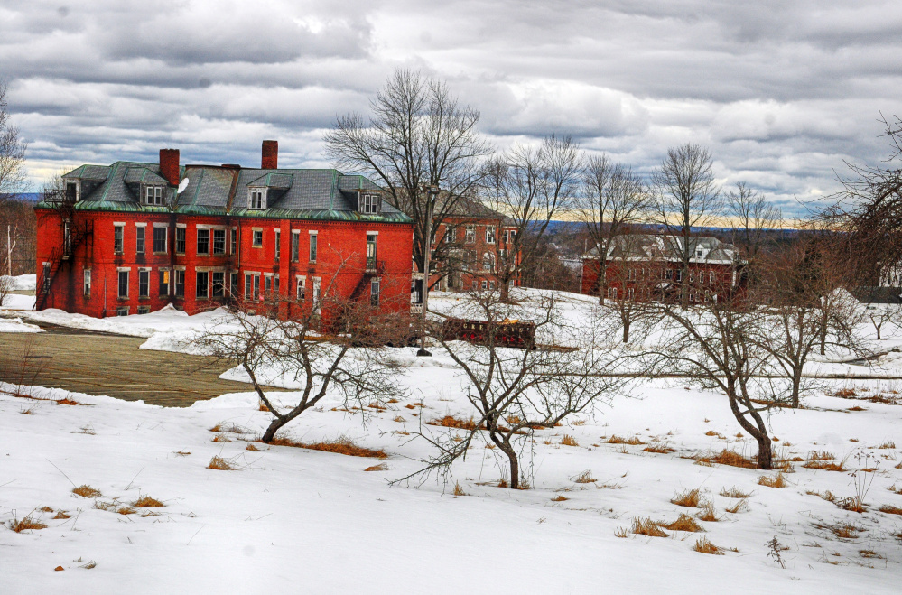 Stevens Commons, shown last week, could be the new home of the Hallowell Fire Department if city officials move forward with a plan to build a station there.