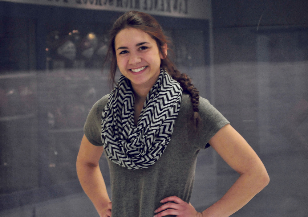 Lawrence's Kiana Letourneau is the Morning Sentinel and Kennebec Journal Girls Indoor Track Athlete of the Year.