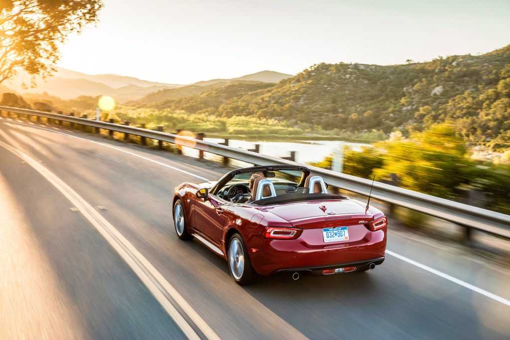The 2017 Fiat 124 Spider Lusso has a base price of $27,495.