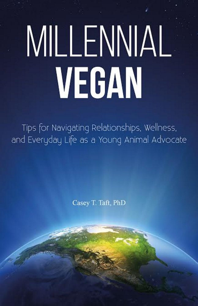 """Casey Taft, author of """"Millennial Vegan,"""" will speak at the festival about challenges for young vegans."""