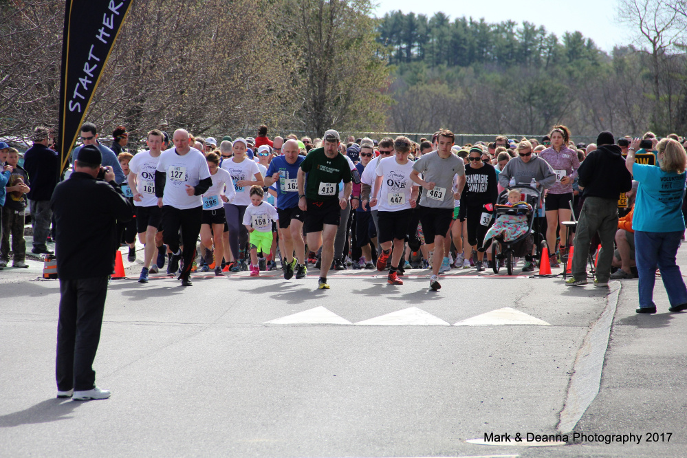 More than 500 individuals participated in the Sexual Assault Crisis and Support Center's sixth annual One in Five 5K Run/Walk on April 30 in honor of Sexual Assault Awareness Month.