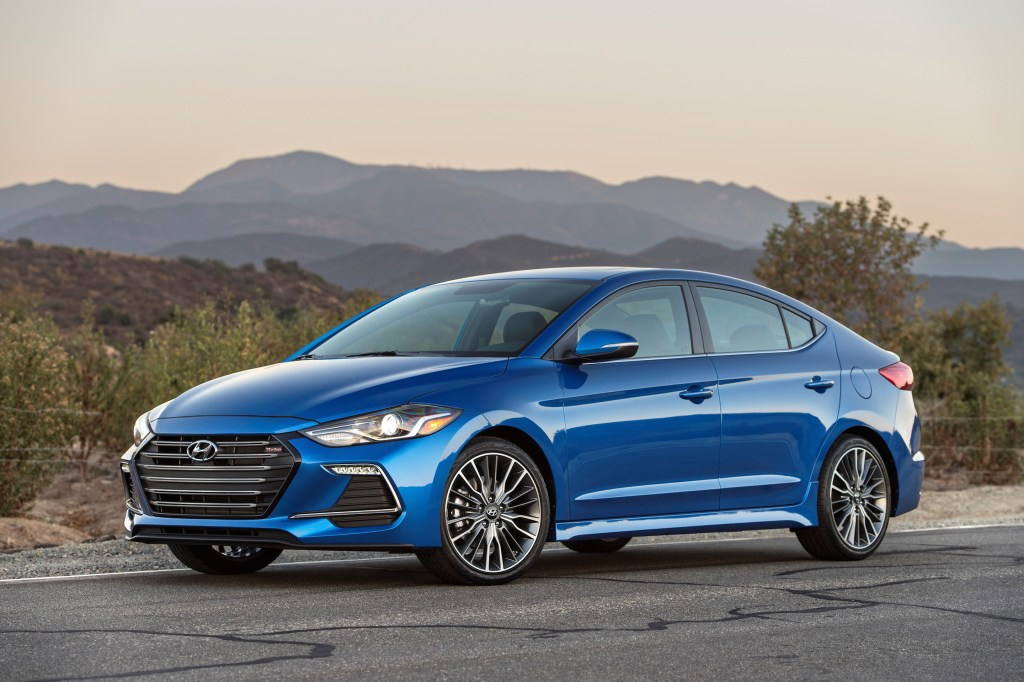 The 2017 Hyundai Elantra Sport.