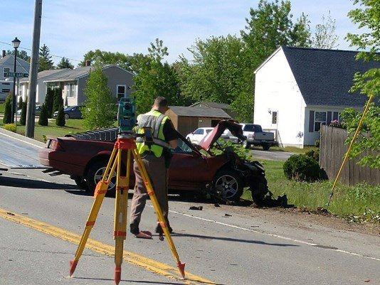 The driver of a sports car was killed in a crash on Route 302 on Sunday morning.