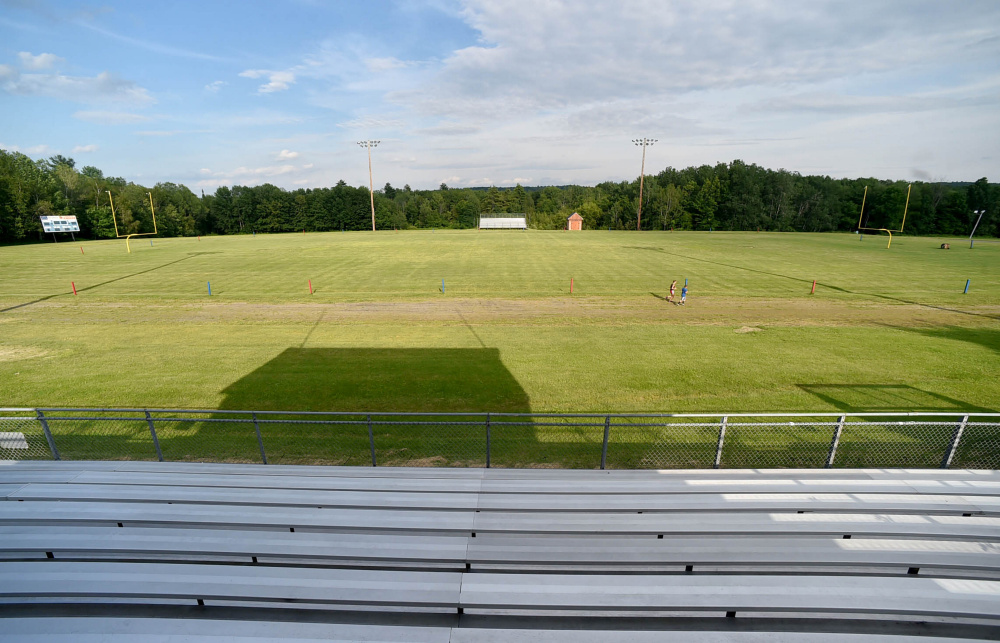 The field, track and stands at Messalonskee High School could be replaced with a state-of-the-art turf facility in the future.The school board discussed the multi-million dollar project at its meeting Wednesday night.