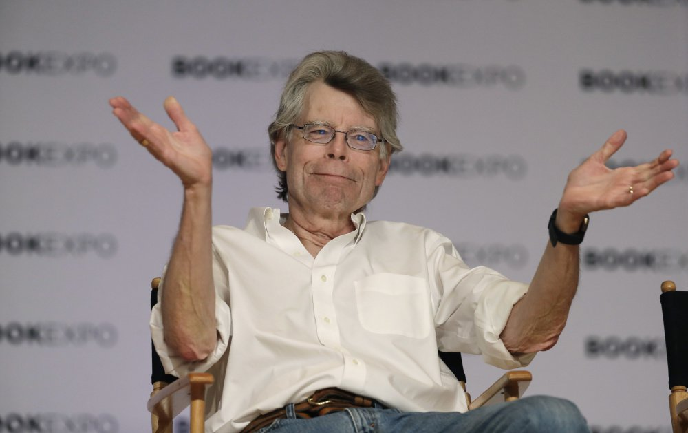 "Maine author Stephen King is celebrating his 70th birthday today with the latest movie based on one of his books, ""It,"" bring droves of fans to theaters."