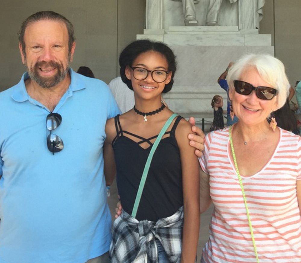Arthur and Donna Lerman, seen here with their granddaughter, Ava Guest, now live in Venice, a city on the West Coast of Florida, after living in Augusta for many years. With Hurricane Irma bearing down on the Sunshine State last weekend, the Lermans had to make two evacuations.
