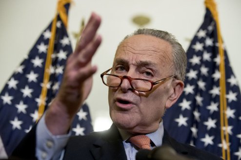 "Senate Minority Leader Sen. Chuck Schumer of New York said Wednesday that he has ""always believed that immigration is good for America"" and criticized Trump for ""politicizing"" the deadly attack in New York on Tuesday."