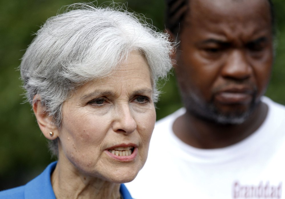 Former Green Party presidential candidate Jill Stein is calling for support of a people's veto campaign to enact ranked-choice voting in Maine.