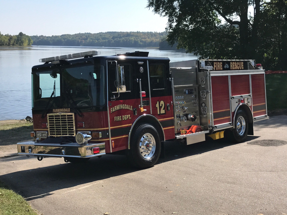 Farmingdale recently took possession of a new $300,000 firetruck, and the town is looking to build a new fire station.