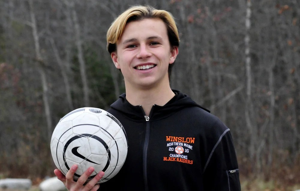 Winslow's Jake Warn is the 2017 Morning Sentinel Boys Soccer Player of the Year.