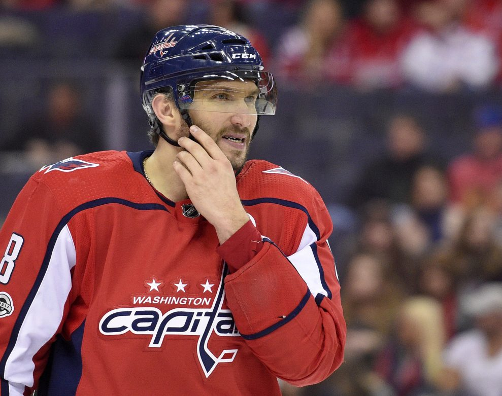 8b66c008 At age 32, Washington's Alex Ovechkin is not slowing down. In fact, he's