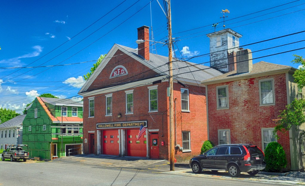 The historic Second Street fire station is among properties around Hallowell that will be reviewed for best uses by a new planning group.