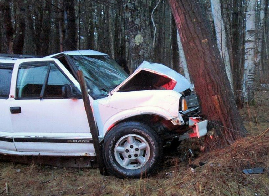 Authorities said Michael Oliver, 67, was killed instantly Monday morning when his Chevrolet Blazer veered off Route 197 in Litchfield and struck a tree.
