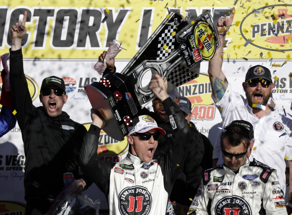 Kevin Harvick has two straight victories in the NASCAR Cup series and now heads to Phoenix and a track he's dominated. He's hoping to end the season with a second series title.