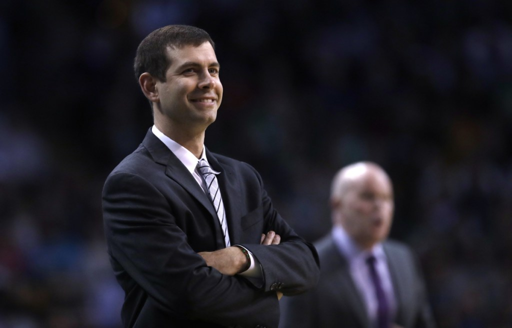 Celtics Coach Brad Stevens says he's been encouraged by his team's performance since the All-Star break, though he'd still like to see more consistency.
