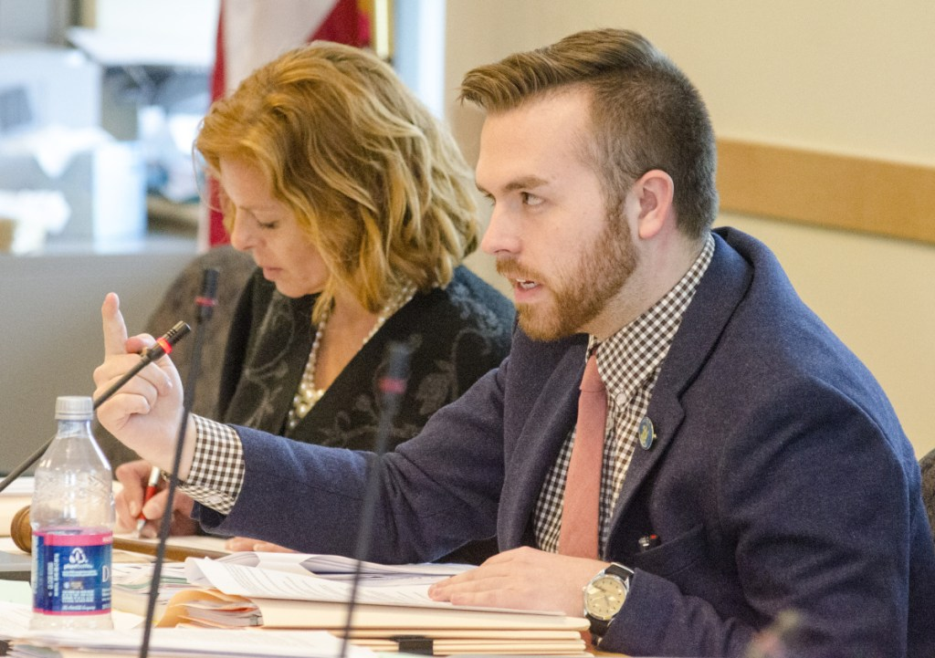 Rep. Ryan Fecteau, D-Biddeford, is sponsoring the bill that would ban therapy practices for minors that use shame, pain or coercion to alter a person's sexual orientation.