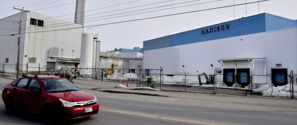 Officials hope federal economic development grants can help find future uses for the shuttered Madison Paper Industries mill site, seen here Friday, following the facility's closure in May 2016 and the loss of more than 200 jobs.