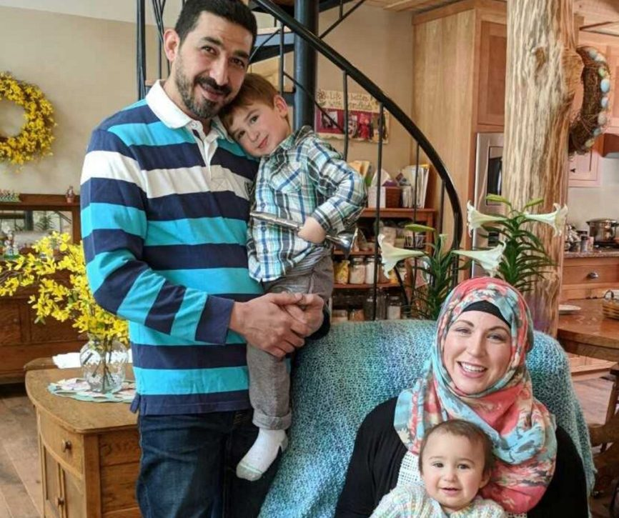After shots were fired at the sign advertising the butchery that Hussam Al Rawi and his wife, Kathryn Piper, operate in Troy, they are worried about the safety of their family, which includes their son, Mohammad-Noor, 3, and daughter, Al Thurayya, 15 months.