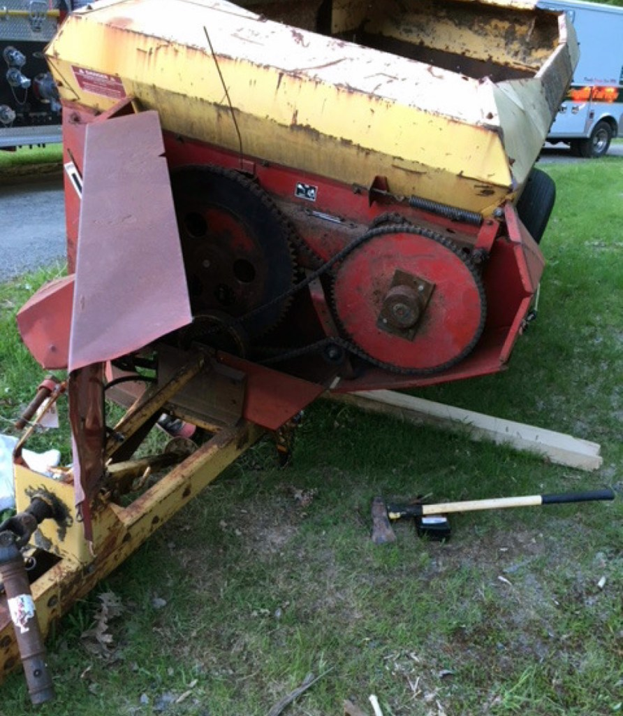 Norridgewock farmer Francis Smith was found pinned under a piece of farm equipment at his home on Friday. He was pronounced dead at the scene.;