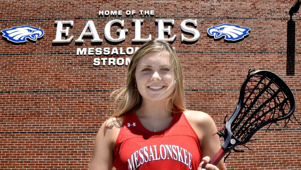 Messalonskee senior Lauren Pickett is the Central Maine Girls Lacrosse Player of the Year.