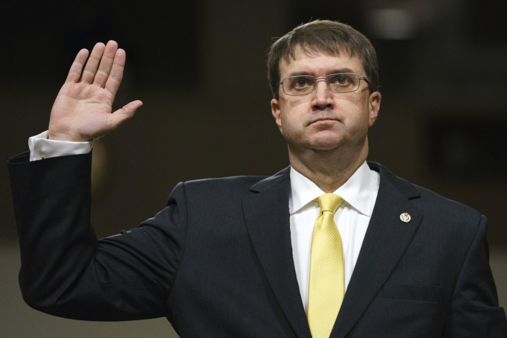 Robert Wilkie won bipartisan confirmation Monday to be the next Veterans Affairs secretary. He is a former assistant secretary of defense under President George W. Bush.