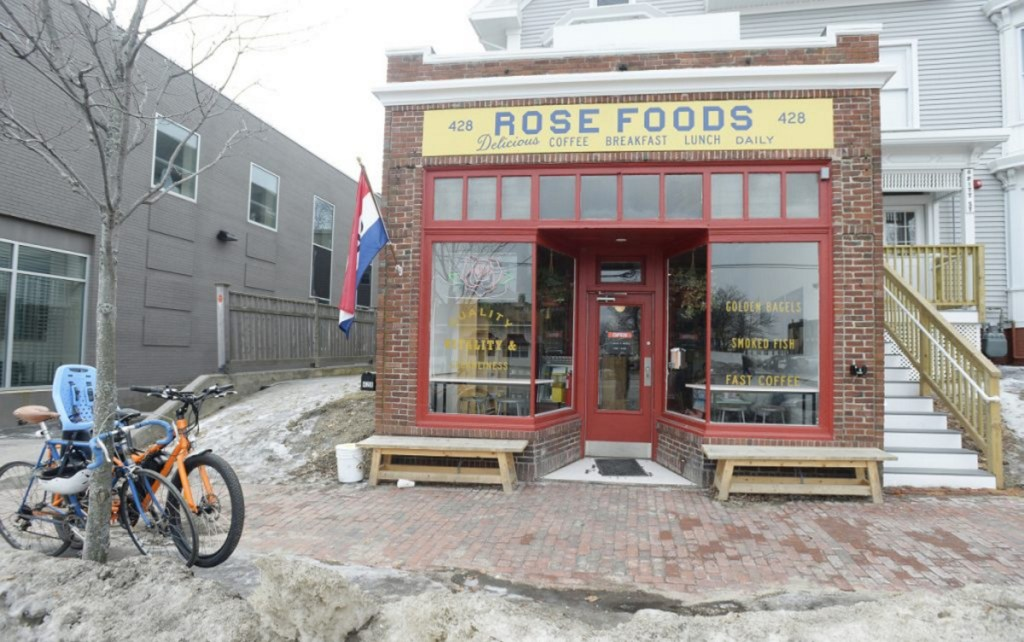 Rose Foods is in the space formerly occupied by Brea Lu Café on Forest Avenue in Portland.