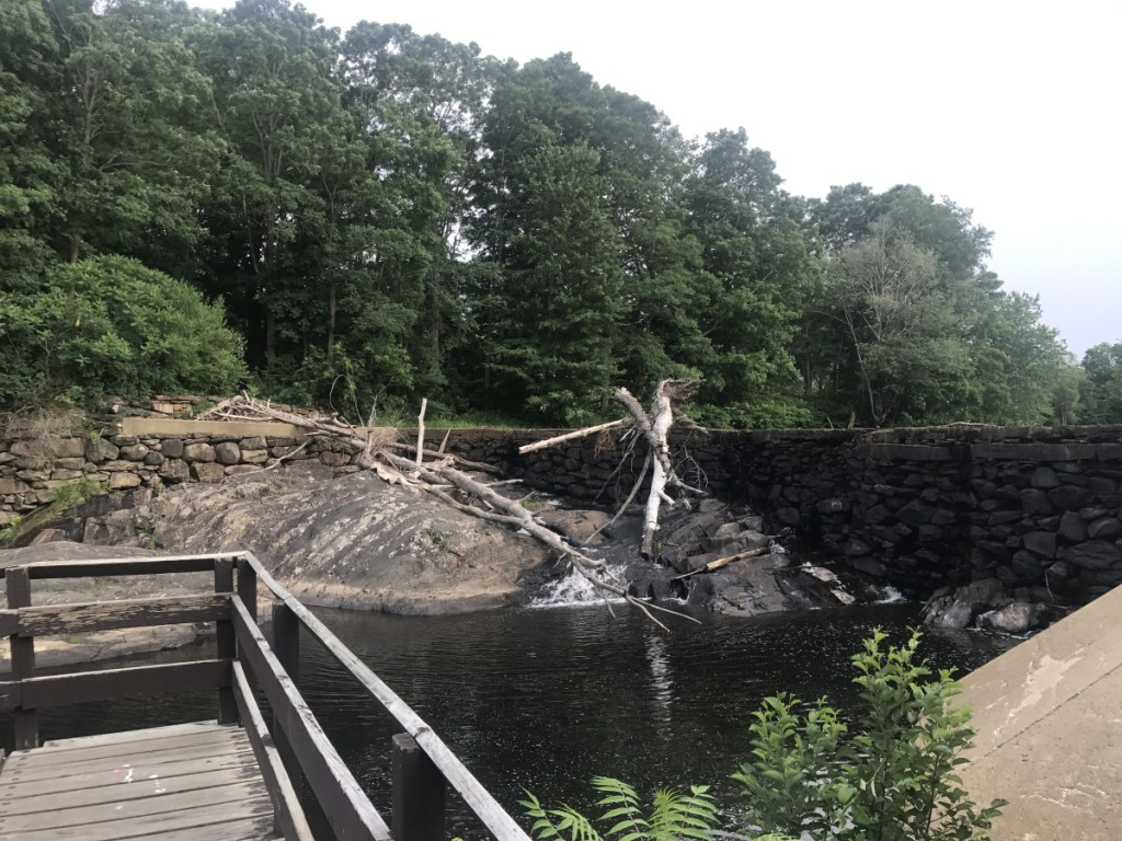 Farmington selectmen have approved a $1.2 million project that includes removal of the Walton's Mill Dam, seen Tuesday. Now the plan is expected to be submitted to town voters in a referendum, probably in November.