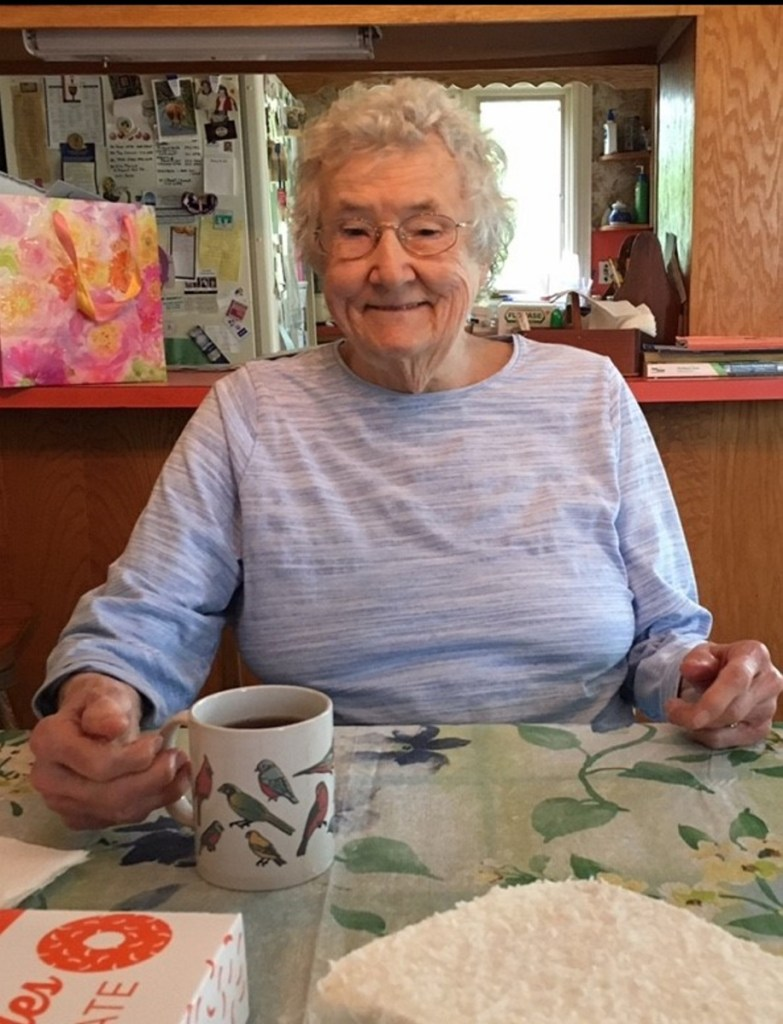"""Judith Jane Slocum VanDerburgh had six children. """"She was 100 percent there for all of us,"""" said Jane VanDerburgh of Biddeford, her youngest child."""
