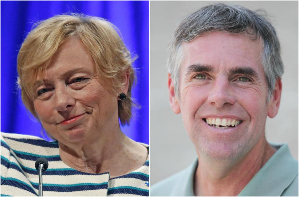 Janet Mills and Shawn Moody are virtually tied in a new poll on Maine's race for governor.