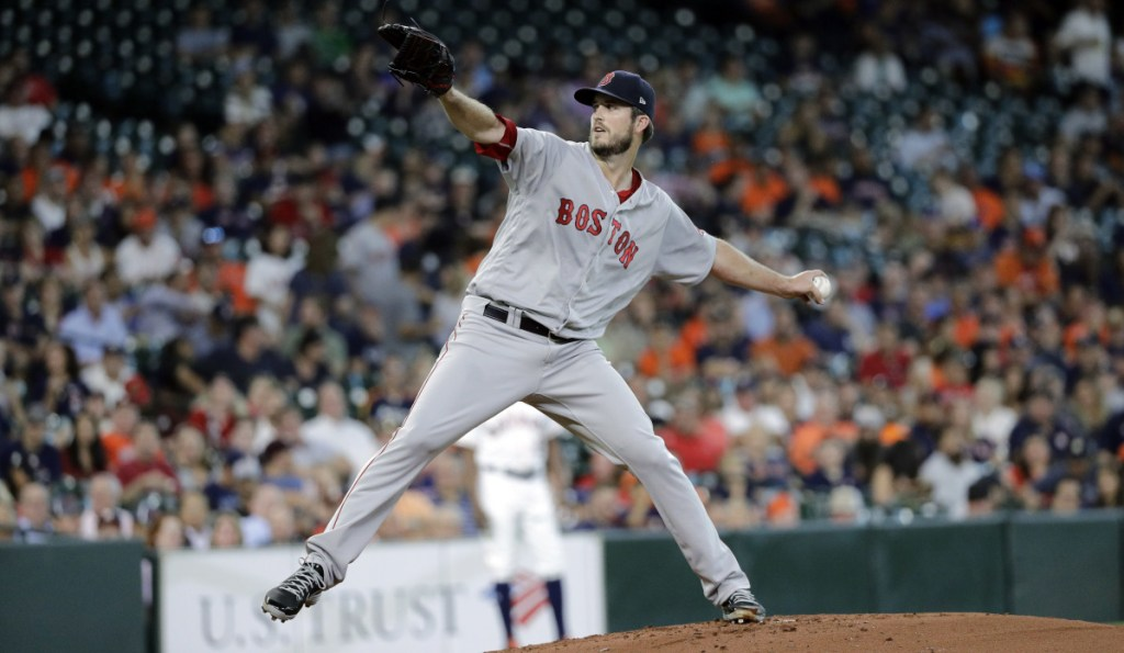 The Boston Red Sox have added left-hander Drew Pomeranz to their roster for the World Series. (AP Photo/David J. Phillip)