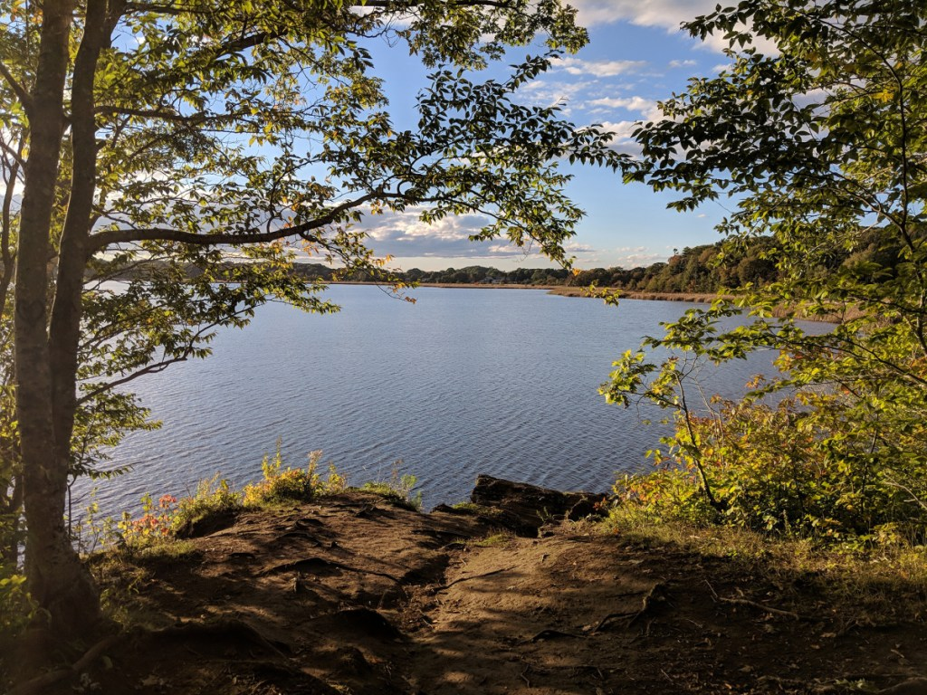 Great Pond is the largest freshwater body in Cape Elizabeth. (Photo by Jake Christie)