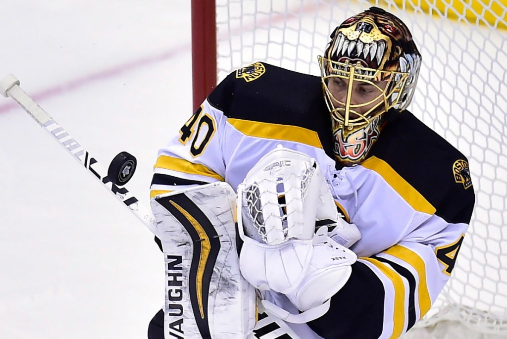 Boston Bruins goaltender Tuukka Rask has left the team to deal with a personal matter, General Manager Don Sweeney announced on Friday.